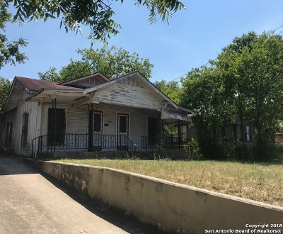 San Antonio Single Family Home For Sale: 2646 E Commerce St