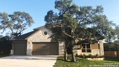 Boerne Single Family Home Back on Market: 26907 Sage Creek