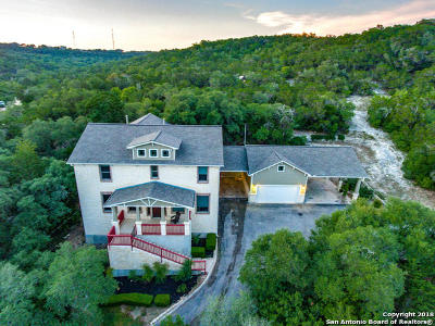 Helotes Single Family Home Price Change: 14155 Walnut Cyn