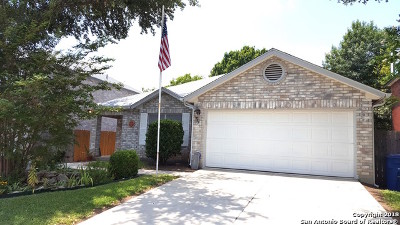 San Antonio Single Family Home Back on Market: 9731 Addersley Dr