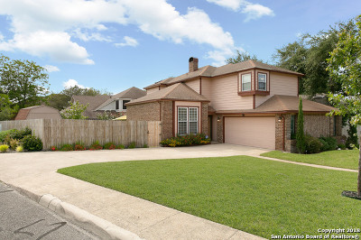 Stone Oak Single Family Home Active RFR: 1106 Summit Crst