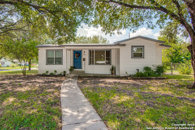 San Antonio Single Family Home Back on Market: 203 Wonder Pkwy