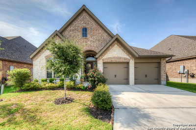Seguin Single Family Home Price Change: 2135 Pioneer Pass