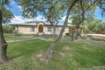 Bulverde Single Family Home For Sale: 31540 Beck Rd