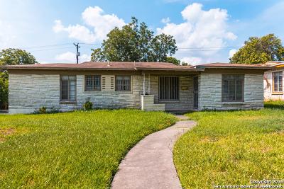 San Antonio TX Single Family Home Back on Market: $148,500