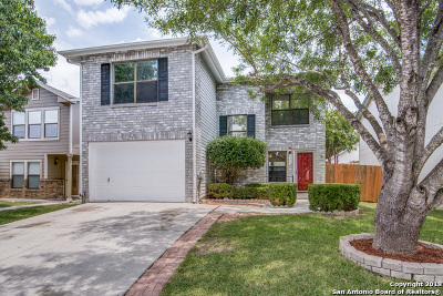 Converse Single Family Home Back on Market: 820 Meadow Dale