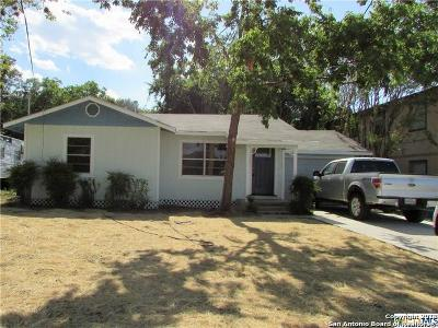 Guadalupe County Single Family Home For Sale: 534 Vaughan Ave