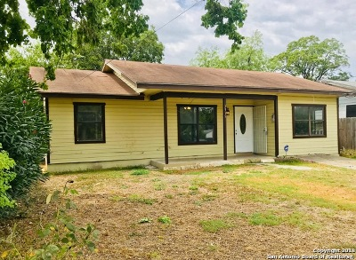San Antonio Single Family Home Back on Market: 3915 S Pine St
