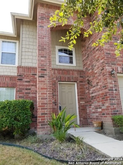 Schertz Single Family Home For Sale: 4109 Whisper Pt