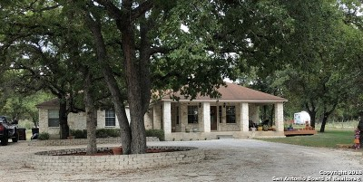 Floresville TX Single Family Home Price Change: $284,000