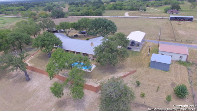 La Vernia Single Family Home For Sale: 9638 Us Highway 87