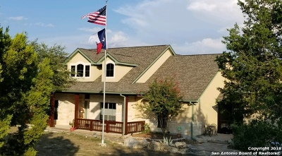 Spring Branch Single Family Home For Sale: 230 Ridge Point
