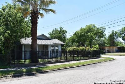 San Antonio Single Family Home Back on Market: 1554 W Hollywood Ave