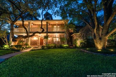 San Antonio Single Family Home For Sale: 10219 Pemcrest