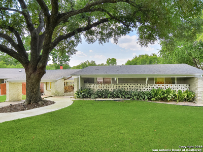 San Antonio Single Family Home Back on Market: 3211 Northridge Dr