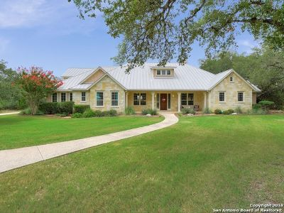 Boerne Single Family Home For Sale: 45 Persimmon