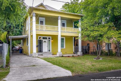 San Antonio Single Family Home For Sale: 213 Lotus Ave