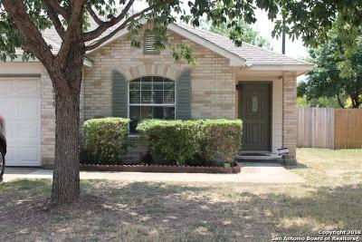 Selma Single Family Home For Sale: 8018 Ruidoso Chase