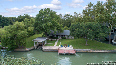 McQueeney Single Family Home For Sale: 256 Spyglass Rd