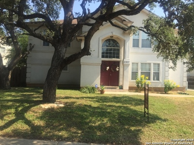 San Antonio Single Family Home Price Change: 2307 Gold Holly Pl