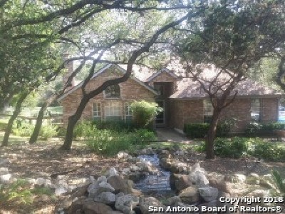 Fair Oaks Ranch Single Family Home For Sale: 8758 Avator Circle