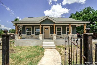 San Antonio Single Family Home For Sale: 707 Sandmeyer St