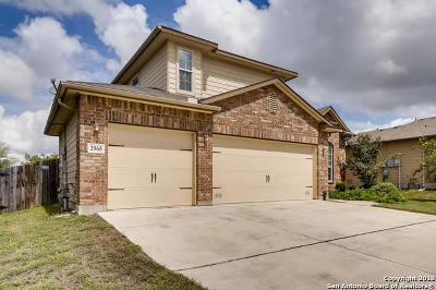 Schertz Single Family Home For Sale: 2965 Ashwood Rd