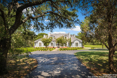 Boerne Single Family Home For Sale: 27651 Ranch Ln
