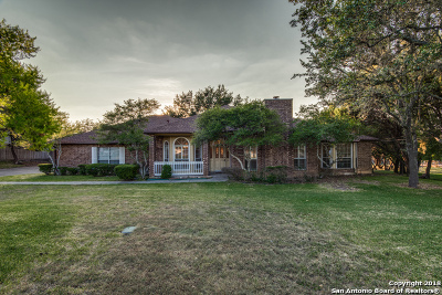 Bexar County Single Family Home Back on Market: 27313 Timberline Dr