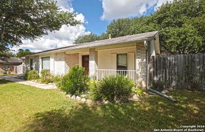 San Antonio Single Family Home Back on Market: 5811 Pine Country St