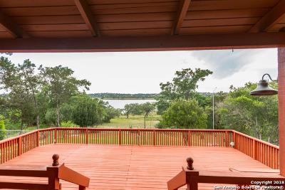 Canyon Lake Single Family Home For Sale: 1958 Lakeshore Dr
