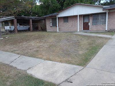 San Antonio Single Family Home Back on Market: 7822 Bronco Ln