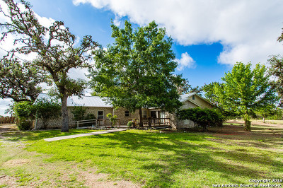 Bandera Single Family Home Active Option: 1100 Highway 173