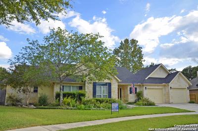 Boerne Single Family Home Price Change: 109 Oak Knoll Circle