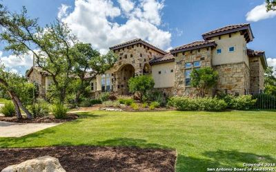 Boerne TX Single Family Home For Sale: $1,290,000