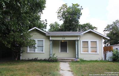 Single Family Home For Sale: 338 E Gerald Ave