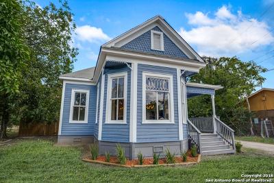 Single Family Home For Sale: 1839 E Houston St