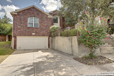 San Antonio Single Family Home Back on Market: 20806 Paso Rocoso