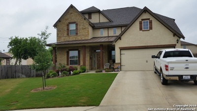Schertz Single Family Home For Sale: 1009 Keanna Pl