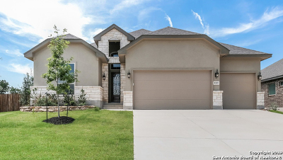 Boerne Single Family Home New: 8219 Claret Cup Way