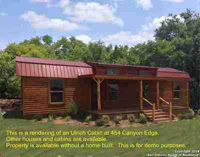 Single Family Home For Sale: 454 Canyon Edge
