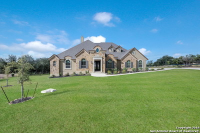 Helotes Single Family Home For Sale: 18611 Canyon View Pass