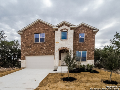 Bexar County Single Family Home Price Change: 11554 Sangria