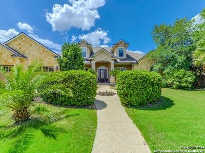 Helotes Single Family Home New: 315 Cavayo Trail