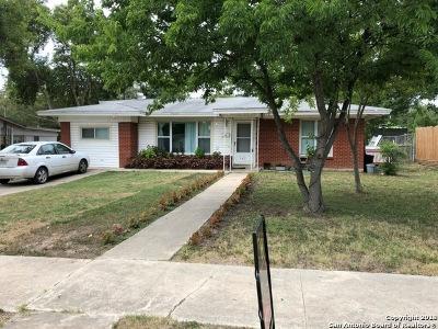 San Antonio Single Family Home Back on Market: 347 Maplewood Ln