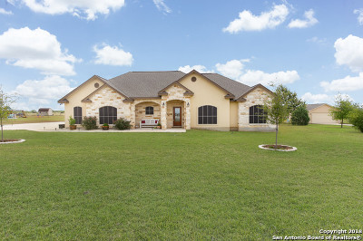 Floresville TX Single Family Home New: $329,900