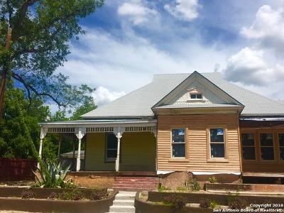 San Antonio Single Family Home For Sale: 1201 E Crockett St