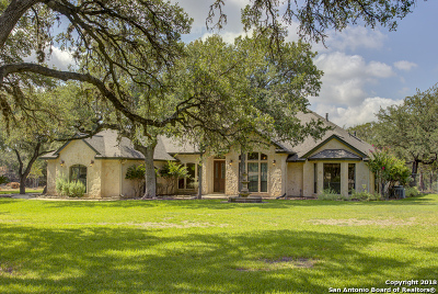 New Braunfels Single Family Home Active RFR: 25847 Lewis Ranch Rd
