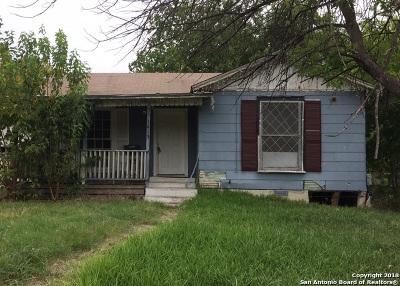 San Antonio Single Family Home Active Option: 1419 Mardell St