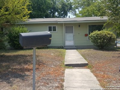 San Antonio TX Single Family Home Back on Market: $88,000